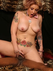 Ace And Les Moore @ CandyMonroe.com Les is a glutton for punishment since he